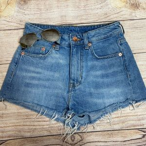 H & M Divided s4 Jean Shorts